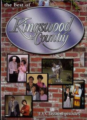 Kingswood Country - The Best of Kingswood Country DVD cover (Volume 1)