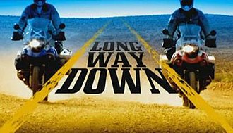 Long Way Down - Opening title shot for Long Way Down