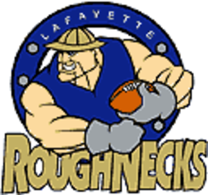 Lafayette Roughnecks - Image: Lafayette Roughnecks