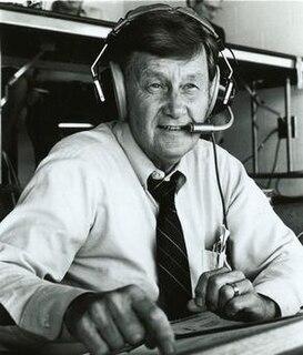 Larry Munson American sports announcer