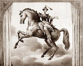 Le Cheval de bronze, 1835 (Source: Wikimedia)