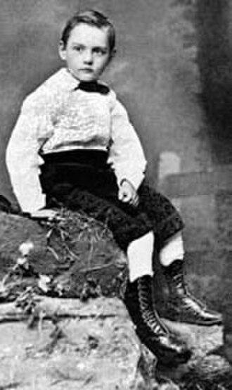 Leland Stanford Jr. - Leland Stanford in 1872