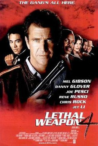 Lethal Weapon 4 - Theatrical release poster