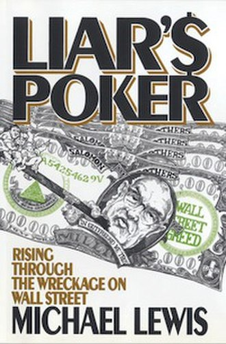Liar's Poker - Image: Liar's Poker by Michael Lewis, W. W. Norton, Oct 1989