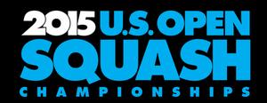 United States Open (squash) - Image: Logo US Squash Open 2015