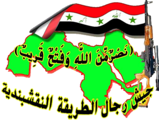 Army of the Men of the Naqshbandi Order Islamic and pan-Arabist organization in Iraq