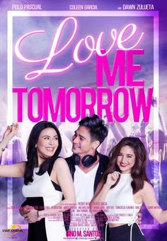 Love Me Tomorrow (film) - Theatrical movie poster