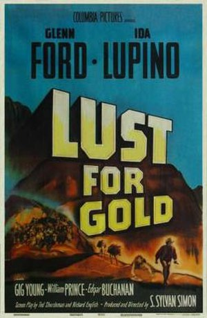 Lust for Gold - Theatrical poster