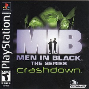Men in Black: The Series – Crashdown - Image: MIB Series Crashdown cover