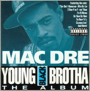 Young Black Brotha (album) - Image: Mac dre ybb 1993