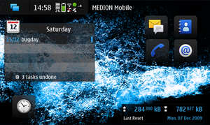Maemo 5 Screenshot