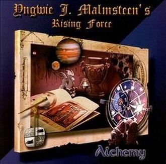 Alchemy (Yngwie Malmsteen album) - Image: Malmsteenalchemy