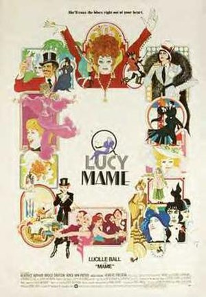 Mame (film) - Original film poster by Bob Peak