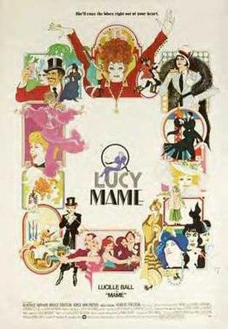 Mame (film) - Original film poster by Bob Peak