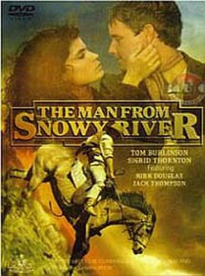 The Man from Snowy River (1982 film) - Australian DVD cover