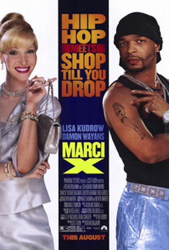 Marci X - Theatrical release poster
