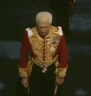 Hugh Cholmondeley, 6th Marquess of Cholmondeley - Image: Marquess of Cholmondeley 1969