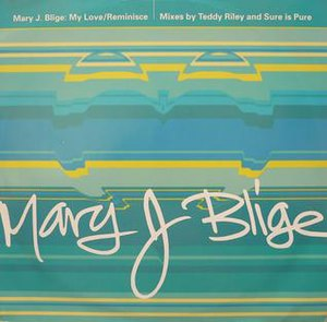 My Love (Mary J. Blige song) - Image: Mary J. Blige My Love
