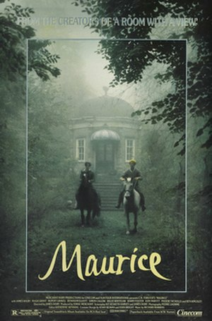 Maurice (film) - Theatrical release poster