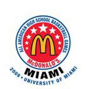 2009 McDonald's All-American Boys Game - Image: Mc Donald's 09