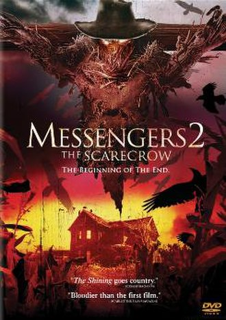 Messengers 2: The Scarecrow - DVD cover