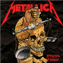 Metallica - Harvester of Sorrow cover.jpg