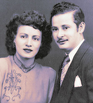 Angelo Falcón - Falcón's parents