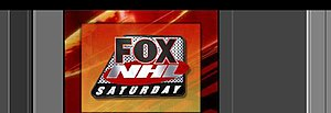 NHL on Fox - Fox's logo for their regular season broadcasts.