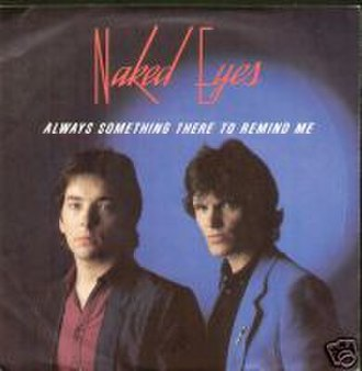 (There's) Always Something There to Remind Me - Image: Naked Eyes ASTTRM