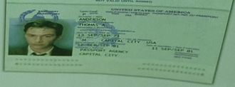 Neo (The Matrix) - A record from Agent Smith's file on Neo and Neo's passport show a difference in the birthday of the character.