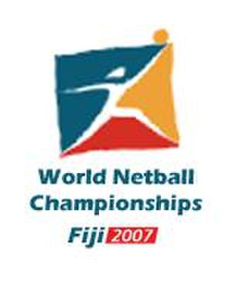 2007 World Netball Championships - Original logo of the 2007 WNC