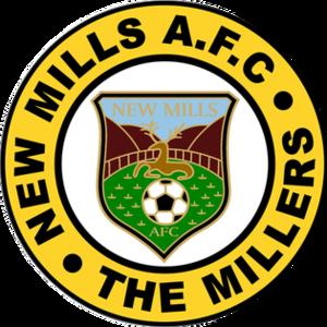 New Mills A.F.C. - Image: New Mills AFC logo