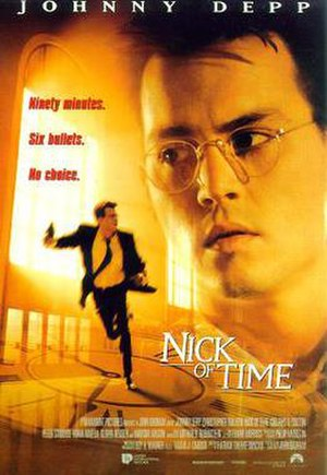Nick of Time (film) - Theatrical release poster