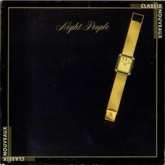 Night People (Classix Nouveaux album) - Image: Night People album cover