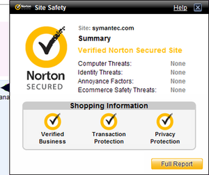 Norton Internet Security Screenshot