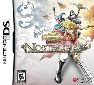 Nostalgia (video game) - Cover art