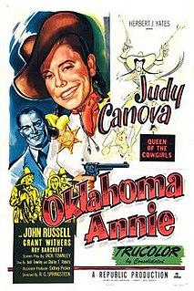 <i>Oklahoma Annie</i> 1952 American film by R. G. Springsteen