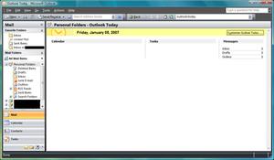 Microsoft Outlook - Microsoft Outlook 2007
