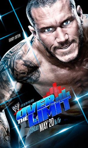 Over the Limit (2012) - The promotional poster featuring Randy Orton