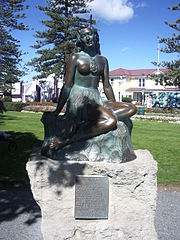 Napier - Pania of the Reef Statue