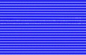 Coupled map lattice - Image: Pattern Selection logmap