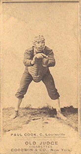 Paul Cook (baseball) - Image: Paul Cook