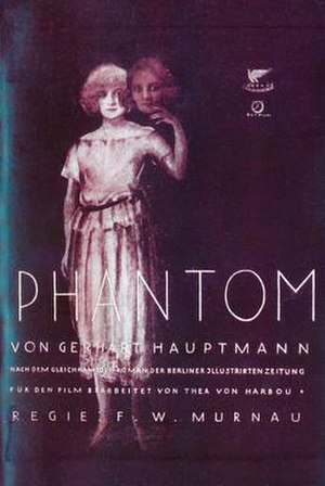 Phantom (1922 film) - German theatrical release poster