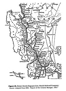 Philippine national railways wikipedia manila railroad company during its peak map contains lines that are presently inactive malvernweather Image collections