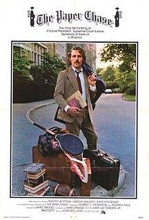 <i>The Paper Chase</i> (film) 1973 film by James Bridges