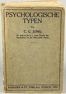 <i>Psychological Types</i> book by Carl Gustav Jung