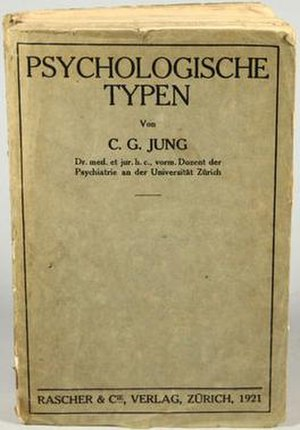 Psychological Types - Cover
