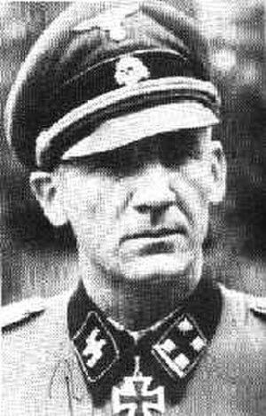 Rudolf Lehmann (SS officer) - Image: RUDOLF LEHMANN