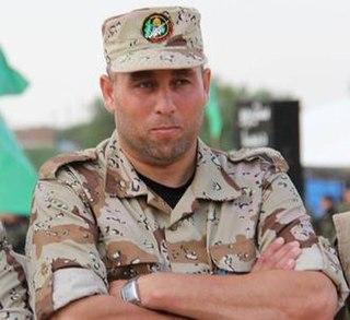 Raed al Atar Commander of the Rafah company of the Hamas Izz ad-Din al-Qassam Brigades