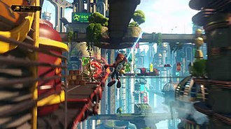 Ratchet & Clank (2016 video game) - Image: Ratchet & Clank Play Station 4 gameplay screenshot